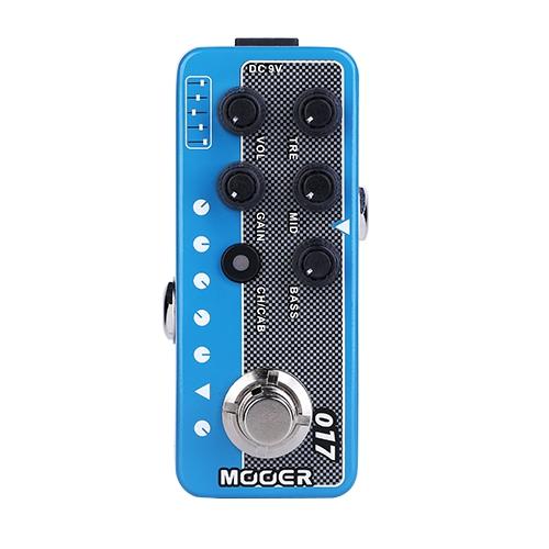 Mooer 迷你前級模擬效果器 017 Cali-MKIV(模擬 Mesa boogie Mark IV )