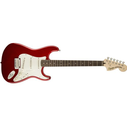 Squier Standard Stratocaster 電吉他 - 紅 (Candy Apple Red)