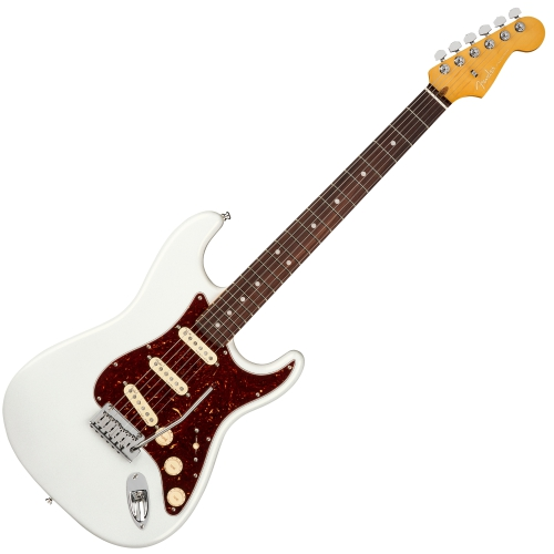 Fender 電吉他 American Ultra Stratocaster - Arctic Pearl 珍珠白
