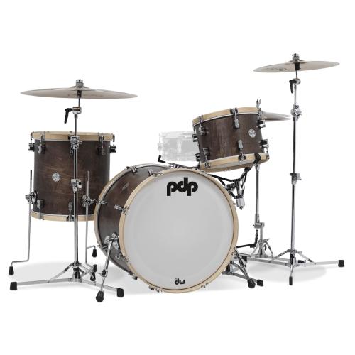 PDP Concept Maple Classic 楓木鼓組 Bop Kit 3粒組 - Walnut Stain【全台獨家】
