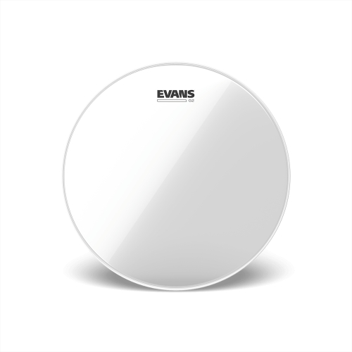 """Evans 10"""" 鼓皮 G2 打擊面 雙層 透明 TT10G2"""