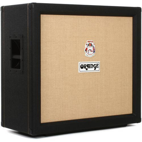 Orange PPC412 4 X 12 Closed Back Speaker Cabinet Black 吉他音箱箱體 黑色