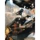 Latin Percussion Cyclops® Jingle Tambourine, Dimpled Brass/Black/Mountable LP179