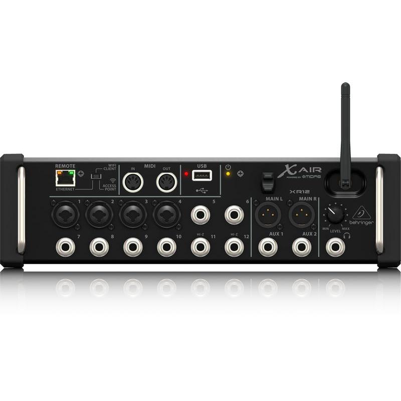 Behringer X AIR XR12 數位混音器