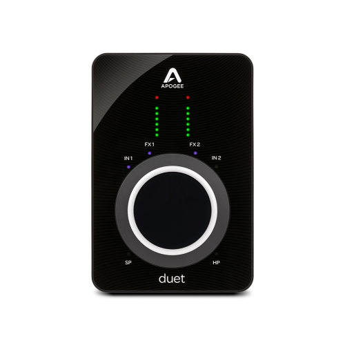 Apogee Duet 3 錄音界面