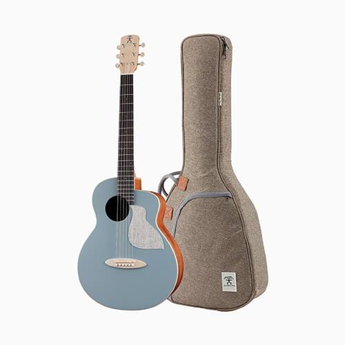 aNueNue 色彩系列 面單旅行吉他 阿羅納藍 MC10-BA
