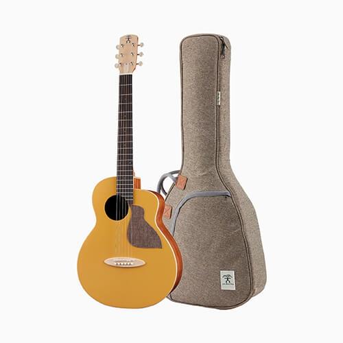 aNueNue 色彩系列 面單旅行吉他接電款 光輝金 MC10-GGE