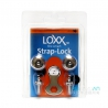Loxx 德國製 安全背帶扣 XL厚肩帶專用 閃耀銀 LOXX-E-CHROME-XL