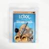Loxx 德國製 安全背帶扣 木吉他款 狐狸金 LOXX-A-GOLD