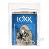 Loxx 德國製 安全背帶扣 木吉他款 輕鬆銀 LOXX-A-NICKEL