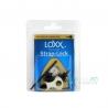 Loxx 德國製 安全背帶扣 木吉他款 沉穩黑 LOXX-A-B-Chrome