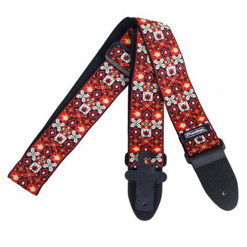 Jim Dunlop 織花系列 Jacquard 背帶-紅 D67-01RD