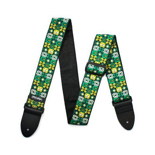 Jim Dunlop 織花系列 Jacquard 背帶-綠 D67-01GN