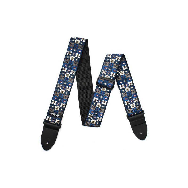 Jim Dunlop 織花系列 Jacquard 背帶-藍 D67-01BL