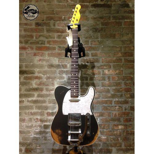 Nashguitars 客製仿舊吉他 TC63 CHAR + Bigsby / Medium 中度仿舊 / 玫瑰木指板