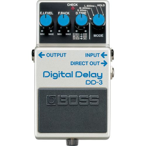 BOSS DD-3 Digital Delay 數位延遲效果器