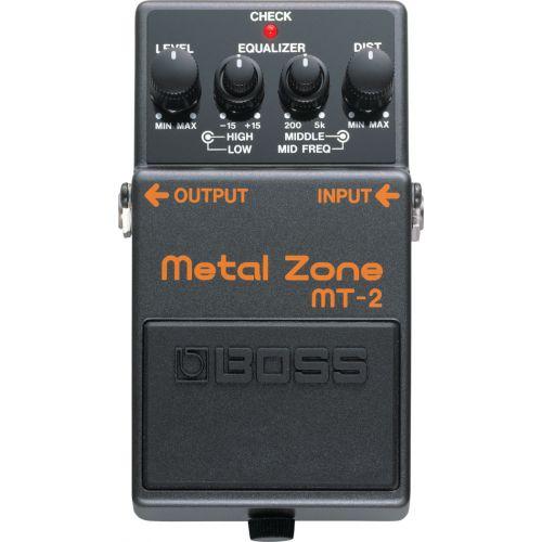 BOSS MT-2 Metal Zone 效果器