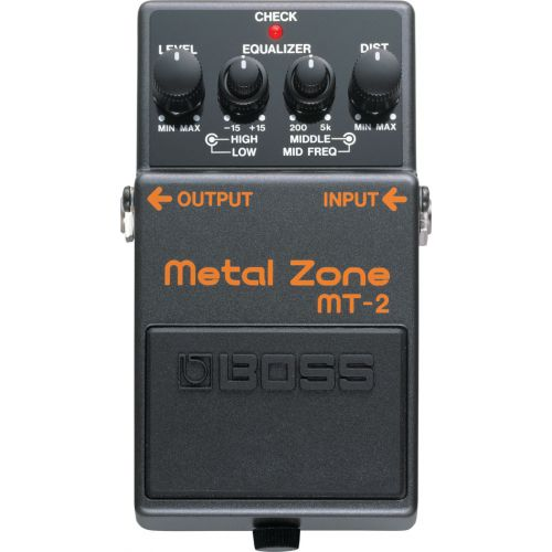 BOSS MT-2 Metal Zone  效果器