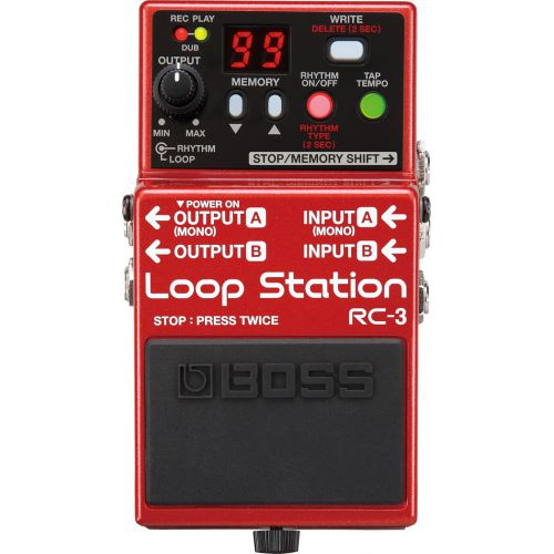 BOSS RC-3 Loop Station  效果器