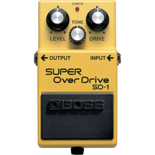BOSS SD-1 Super OverDrive  效果器