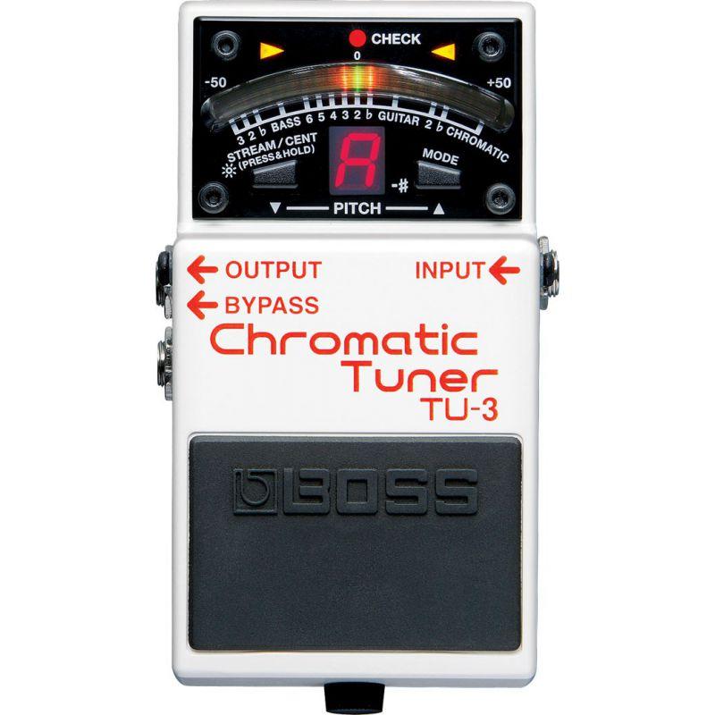 BOSS TU-3 Chromatic Tuner 半音階調音器