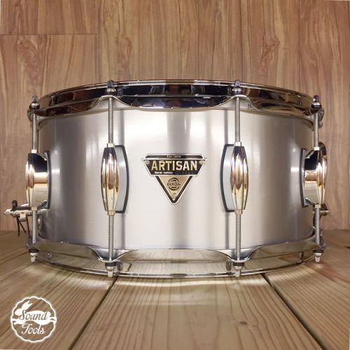 Dixon Artisan Custom 小鼓 / 6.5x14 金屬系列|鋁(透明漆)