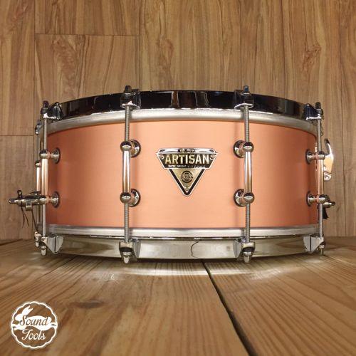 Dixon Artisan Custom 小鼓 / 5.5x14 金屬系列|紅銅