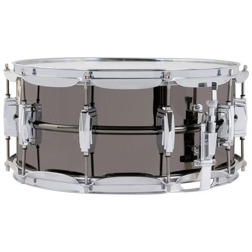 Ludwig Supraphonic Black Beauty 小鼓 6.5x14 鍍鎳銅 LB417