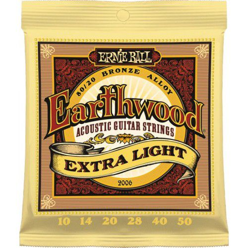Ernie Ball Earthwood 10-50 木吉他弦 80/20 Bronze (2006)