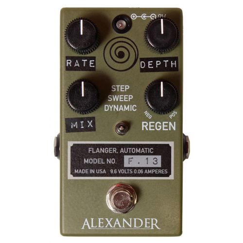 ALEXANDER F.13 Flanger 效果器【全台獨家】