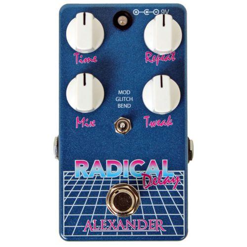 ALEXANDER Radical Delay 效果器【全台獨家】