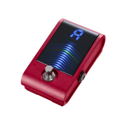 Korg Pitchblack Custom 腳踏式調音器 (紅色-限量版)