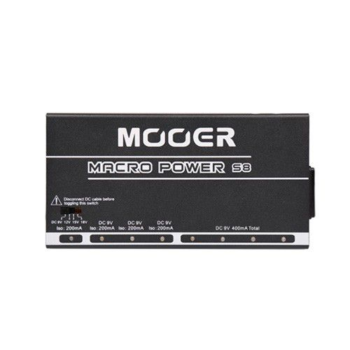 MOOER Micro Power S8 電供 獨立/混搭 4組