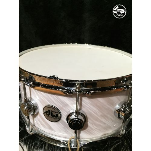 DW Collector's 小鼓 6x14 Twisted WhiteSilver