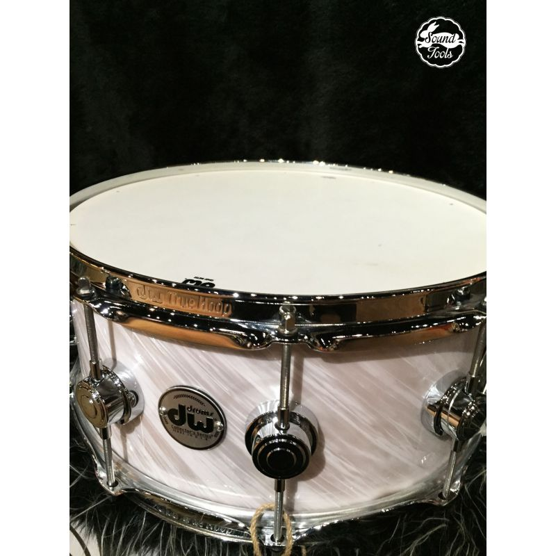 Dw Collector's U.S.A Twisted WhiteSilver 6x14