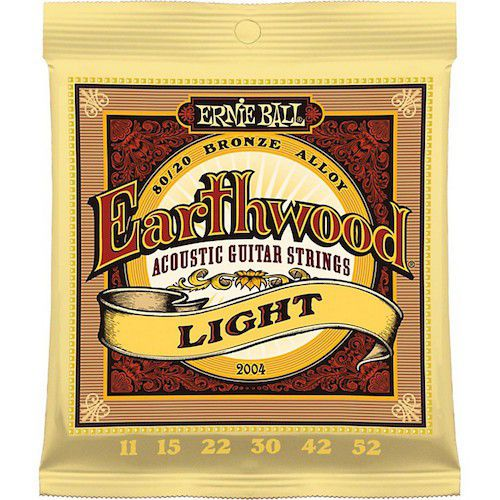 Ernie Ball Earthwood 11-52 木吉他弦 80/20 Bronze (2004)