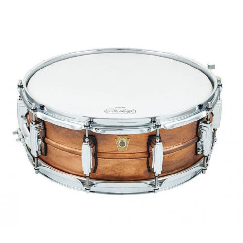 Ludwig Copper Phonic Raw 小鼓 5x14 仿古鏽蝕紅銅 LC661