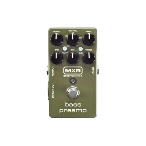 Dunlop MXR 貝斯模擬前級效果器 Bass Preamp M81