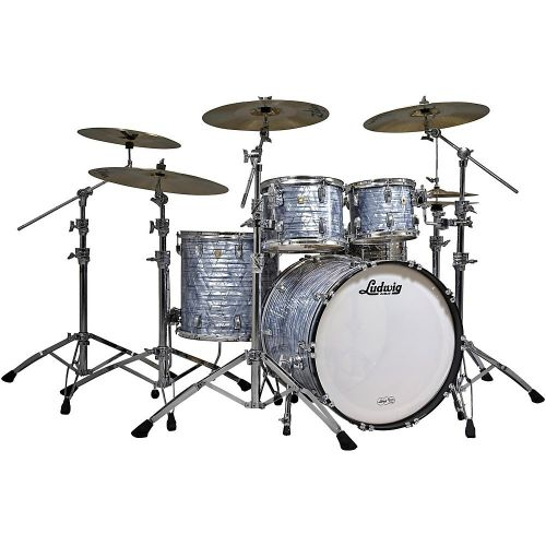 Ludwig Classic Maple Sky Blue Pearl 鼓組