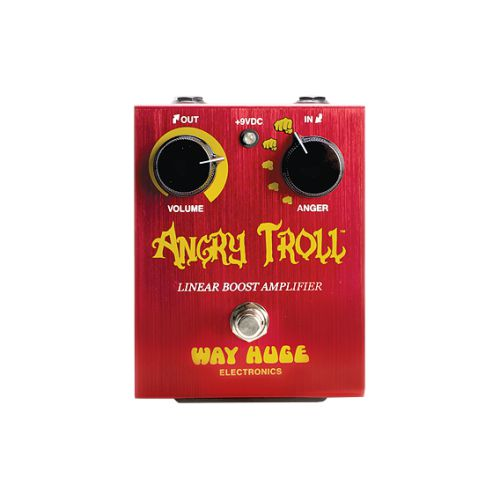 Dunlop Boost效果器 Way Huge Angry Troll Boost WHE101
