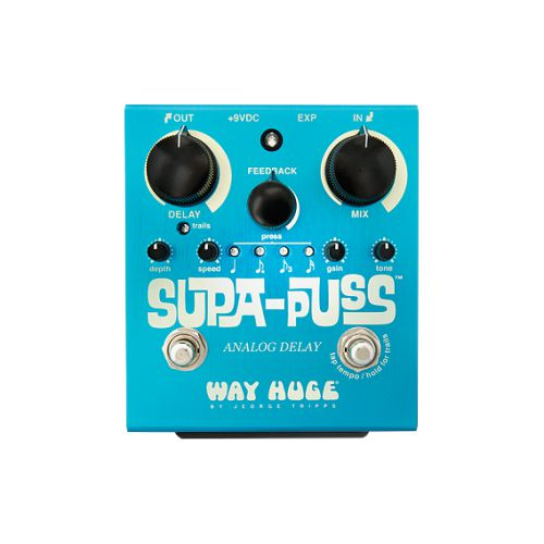 Dunlop Delay效果器 Way Huge Supa-Puss Analog Delay  WHE707