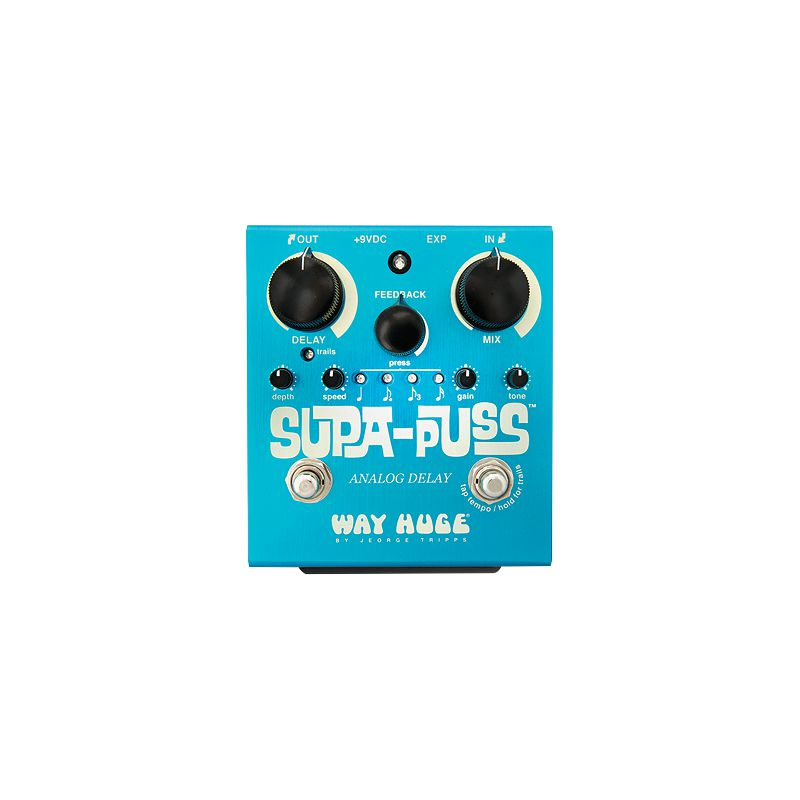 Dunlop Way Huge WHE707 Supa-Puss Analog Delay