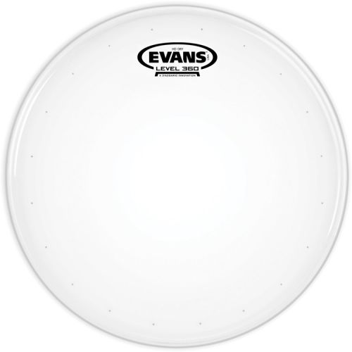 "Evans 鼓皮 HD Dry 14""小鼓打擊面 雙層 噴白 氣孔 內弱 (B14HDD)"