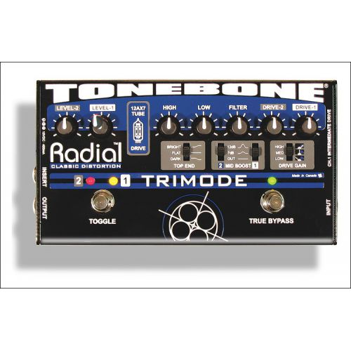 Radial Tonebone Trimode Distortion Pedal 破音效果器