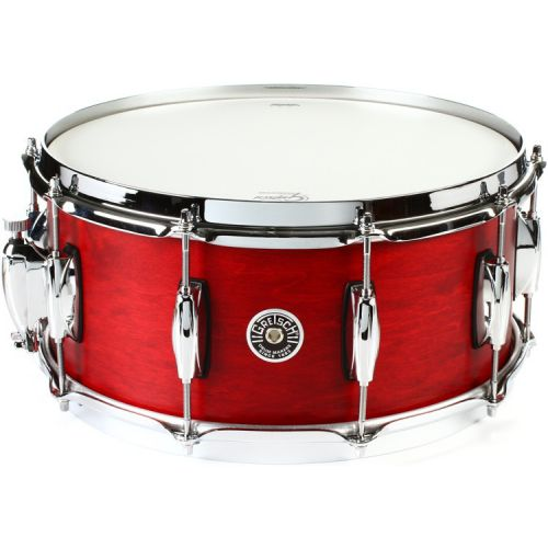 Gretsch Brooklyn 小鼓 6.5x14 Satin Tabasco GB-65141-S-ST