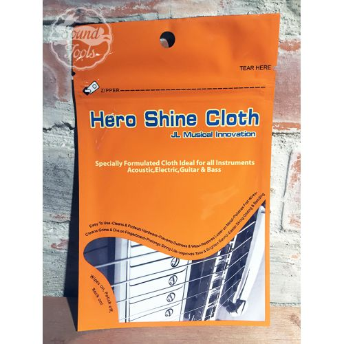 英雄布 Hero Shine Cloth 金屬配件拋光除鏽布