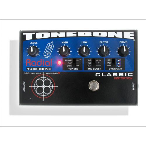 Radial Tonebone Classic Tube Distortion Pedal 破音效果器
