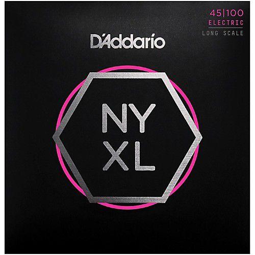 D'Addario NYXL 45-100 電貝斯弦