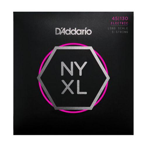 D'Addario NYXL 45-130 電貝斯弦