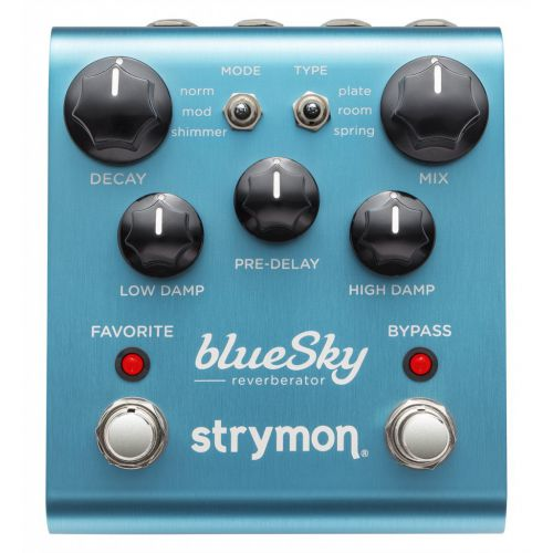 Strymon blueSky Reverbrator 殘響效果器